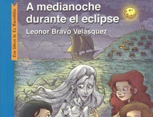 A medianoche durante el eclipse